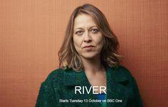 River with beautiful Nicola Walker and Stellan Skarsgard. Last Tango In Halifax, Peter Firth, Nicola Walker, Sarah Lancashire, Bbc One, British Actors, The Twenties, Actors & Actresses, River