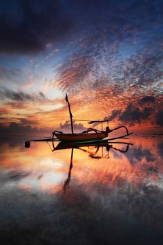Morning at Sanur Beach, Bali, Indonesia