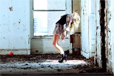 fashion shoot in abandoned building - Google Search