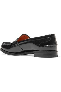 Church's - Sally Glossed-leather Loafers - Black - IT36