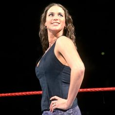 See a whole different side of WWE Chief Brand Officer and Raw Commissioner Stephanie McMahon with these rare and never-before-seen photos. Wrestling Superstars, Wrestling Divas, Women's Wrestling, Wwe Stephanie Mcmahon, Mcmahon Family, Wwe Lita, Hottest Wwe Divas, Vince Mcmahon, Wwe Girls