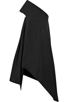 Net-a-Porter: Rick Owens|Cotton and silk-blend canvas dress $1415.00