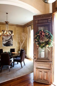 Good look for my dining room and big round table that I have! from SummerHouse | Ridgeland, MS