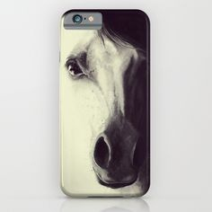 Come to me, my dream.. Digital illustration Horse / iPhone & iPod Case by LilaVert