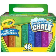 Crayola Washable Sidewalk Chalk on Amazon - ONLY $4.48!!!