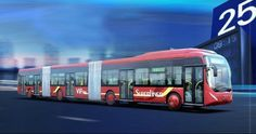 World's largest bus – China's mega-bus is longer than regular city buses and can transport up to 300 passengers in a single trip