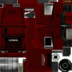 Scenery Background, Paper Models, Cool Designs, Paper Crafts, Trucks, Ferrari, Kid, Winter, Places