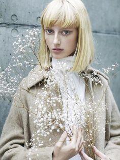 Those eyes!!  Model: Laura Hagested | Photographer: Zinna Brigh Mac-Eochaidh - for REVS