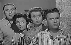 """""""Life of Riley""""- 1949-1950  1953-1958 with a cast of  Chester A. Riley- William Bendix  Riley- Marjorie Reynolds  Junior- Wesley Morgan  Riley Marshall- Lugene Sanders"""