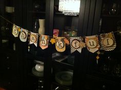 Stampin' Up!, Thankful Banner