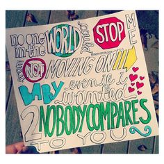 Nobody Compares- One Direction