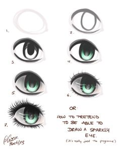 how to draw eyes   Tumblr