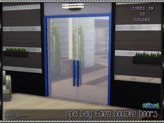 SrslySims | 'Spa Day' Eden Double Doors