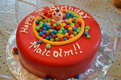 Ball Pit Birthday Cake