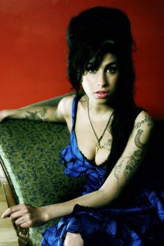 Amy Winehouse poor thing she was so talented i wanted to do my hair like hers for my jr prom but that was a no no in my house