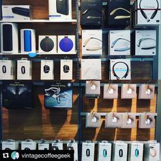 Tile at the AT&T store. #Repost @vintagecoffeegeek  Ready to jam out this weekend? Accessories are on sale plus we have some steals on the @ultimateears @lg_tone @tiledit @fitbit and more!!! My fave? 20% off @beatsbydre powerbeats 2 wireless  #tiledit  www.thetileapp.com