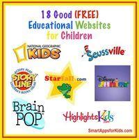 18 Good Free Educational Websites for Children