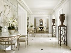 best white room ideas - how to decorate an elegant white bedroom White Rooms, White Bedroom, Lucca, Modern Mansion, Duplex, French Chateau, French Villa, California Homes, Northern California