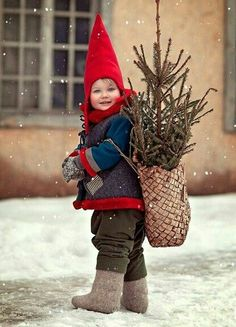 So cute - carry Christmas with you!
