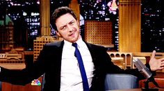 James McAvoy and all his sass on The Tonight Show with Jimmy Fallon.