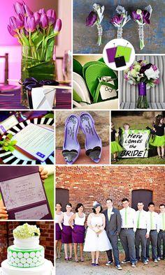 modern wedding colors