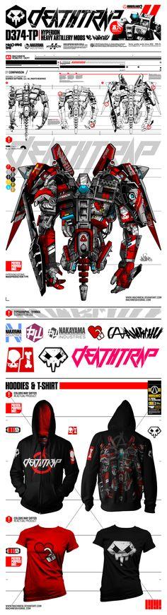 deathtrap x hyperion by machine56.deviantart.com on @deviantART