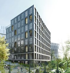 lan: 40 housing units, paris (2010)