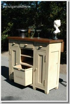 Antique Replica French Country Bar Furniture $1,200.00