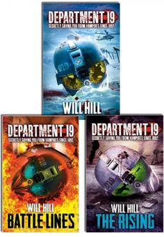 Department 19 Series Collection of 3 Books by WILL HILL #BattleLines #TheRising #Book #Department19 #AdultFiction http://www.snazal.com/department-19-series-will-hill-3-books-collection-set--DEALMAN-U5-WillHill-3bks.html