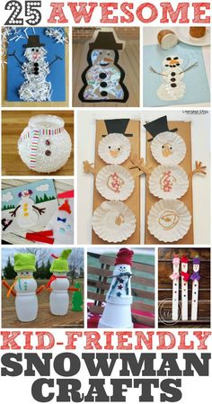 If you stuck indoors with the kidlets, be inspired by the snow and use the extra time to create fun arts and crafts projects. Check out our list of 25 Easy Snowman Crafts for Kids for inspiration. Ice, snow, and the Polar Vortex are making this a January to remember! My kids LOVE to make seasonal …