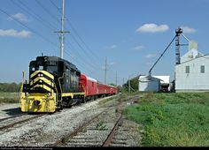 The Cincinnati Railway Company's restored Nickel Plate Road GP30 901 leads a Saturday afternoon Fall Flyer excursion on the CRC's Lebanon, Mason & Monroe Railroad operation, seen here passing the Trupointe Lebanon Elevator at Norgal Drive.
