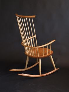 windsor style rocking chair digital plan chairs pinterest