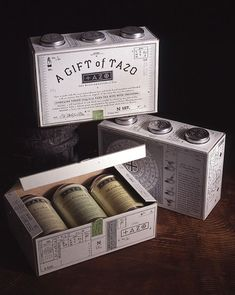 Package design  by Sandstrom Partners
