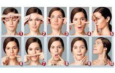 Faire de la gymnastique faciale pour paraître plus jeune | amelioretasante.com