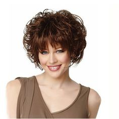 Curly Pixie Cuts, Pixie Cut With Bangs, Pixie Cut Wig, Short Curly Wigs, Curly Hair With Bangs, Short Curly Hair, Curly Hair Styles, Natural Hair Styles, Natural Wigs