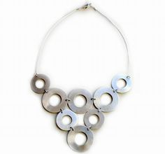 diy jewelry ideas | Could do this with different sized washers