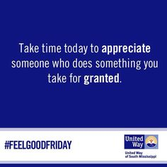 #FeelGoodFriday
