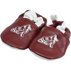 Texas A Aggies Infant Booties - Maroon