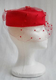 Pillbox Hat Veil