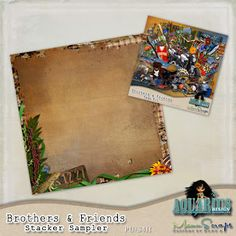 Brothers & Friends with Freebies | Aquarius Scrapability