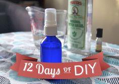 12 Days of DIY: Easy, Sweet-Smelling Body Spray
