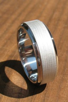 18 Mens Wedding Bands And Engagement Rings ❤ More and more jewellery's designers create not only mens wedding bands, but also mens engagement rings. See more: http://www.weddingforward.com/mens-wedding-bands-engagement-rings/ #wedding #bands #mens #engagement
