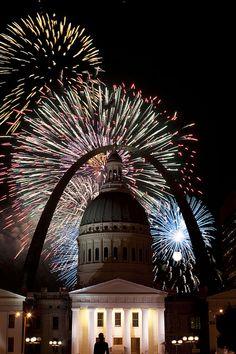 Fourth of July Fireworks - St. Louis