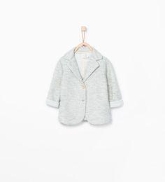 ZARA - KIDS - Textured blazer with buttons