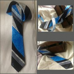 Exclusive and handmade blue tie by Onesbcn