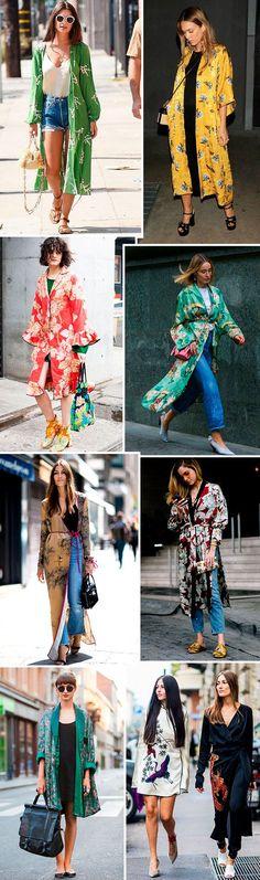 O Kimono e as trends do Japão estão super em alta.