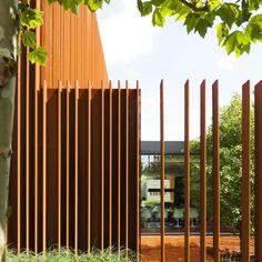 28 Besten Zaune Bilder Auf Pinterest Corten Steel Facades Und Fence