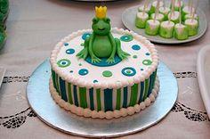 Frog Prince Smash Cake......@Smitha Joy