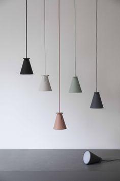 Lampe Bollard - Carbone - Menu