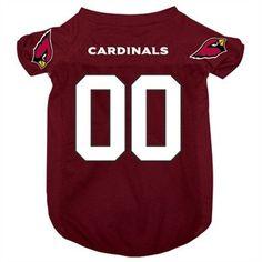 Arizona Cardinals NFL Team Shirts for dogs